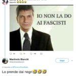 Manfredo Bianchi professore fascista