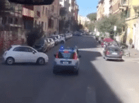 polizia scorta